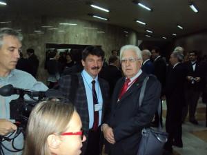 С академиком А.Гусейновым